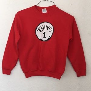 Other - Boys sweaters THING 1 size Medium 6-8